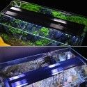 48-70 cm akvarie armatur - 11W LED, hvid/blå, justerbar