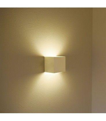 V-Tac 12W LED hvid væglampe - Firkantet, justerbar spredning, IP65 udendørs, 230V, inkl. lyskilde