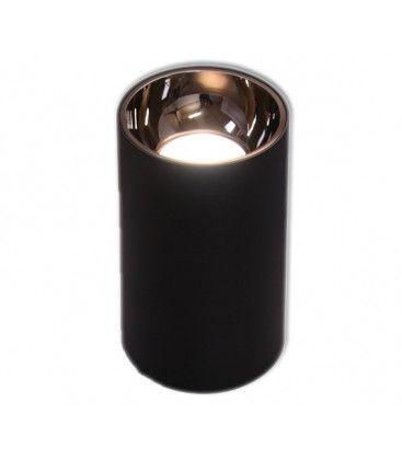 LEDlife ZOLO pendel lampe - 12W, Cree LED, sort/rosa guld, m. 1,2m ledning