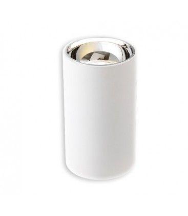 LEDlife ZOLO lampe - 12W, Cree LED, hvid/sølv