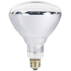 Traditionelle pærer Klar E27 250W infrarød glødetrådpære - Varmepære, R125