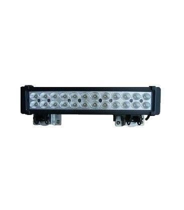 72W LED arbejdslampe - Bil, lastbil, traktor, trailer, udrykningskøretøjer, kold hvid, 12V / 24V