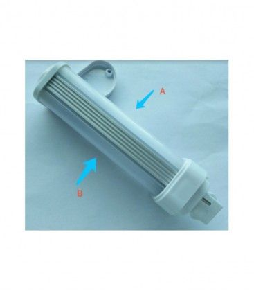LEDlife G24D LED pære - 5W, 240°, mat glas