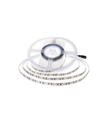 V-Tac 11W/m LED strip - 5m, 150lm/W, IP20, 24V, 168 LED pr. meter
