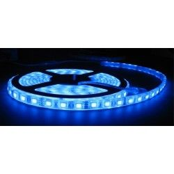 IP65.5050-30.blue: Blå stænktæt LED strip - 5m, 30 LED pr. meter