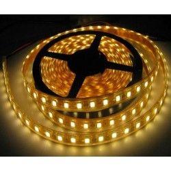 IP68.5050-60: 14w vandtæt LED strip - 5m, IP68, 60 LED, 14w pr. meter!