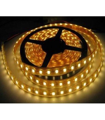 14w vandtæt LED strip - 5m, IP68, 60 LED, 14w pr. meter!