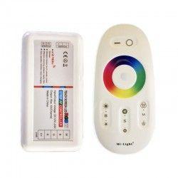 12V RGB+WW RGB+WW controller med fjernbetjening - Passer kun til RGB+WW strip, 12V, RF trådløs, 220W