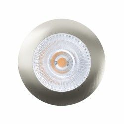 Indbygningsspot LEDlife Unni68 møbelspot - Hul: Ø5,6 cm, Mål: Ø6,8 cm, RA95, børstet stål, 12V