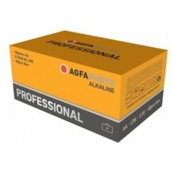 Batterier 40 stk AgfaPhoto Professional Alkaline batteri - AA, 1,5V