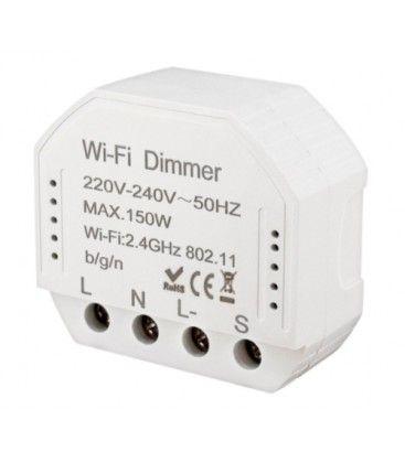 WifiDimmer150 - 150W LED dæmper, kip-tryk/push dæmp, korrespondance, til indbygning