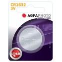 CR1632 1 stk AgfaPhoto knapcellebatteri - Lithium, 3V