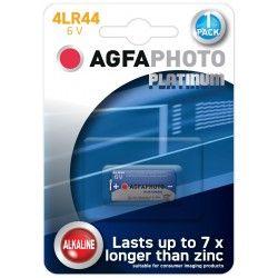 Batterier 1 stk AgfaPhoto Alkaline batteri - 4LR44, 6V