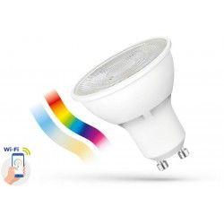 GU10 LED pærer 5W Smart Home LED pære - Virker med Google Home, Alexa og smartphones, GU10