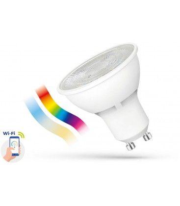 5W Smart Home LED pære - Virker med Google Home, Alexa og smartphones, GU10