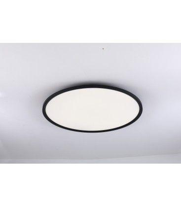 LEDlife 40W LED rundt panel - 100 lm/W, Ø60, sort, inkl. monteringsbeslag