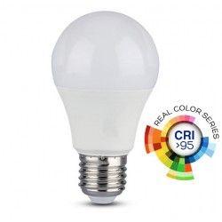 Almindelige LED pærer E27 V-Tac 10W LED pære - A60, E27, RA 95