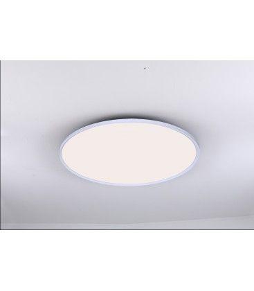 LEDlife 40W LED rundt panel - 100 lm/W, Ø60, hvid, inkl. monteringsbeslag