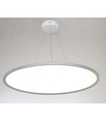 LEDlife 40W LED rundt panel - 100 lm/W, Ø60, hvid, inkl. wireophæng