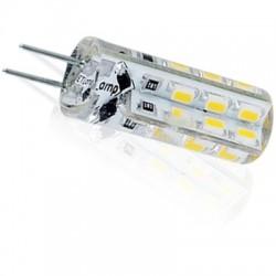 SILI1.5.G4.cw: SILI1.5 LED pære - 1.5W, kold hvid, 12V, G4