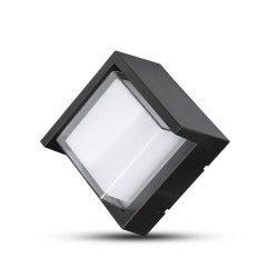 Udendørs væglamper V-Tac 7W LED sort væglampe - Firkantet, IP65 udendørs, 230V, inkl. lyskilde