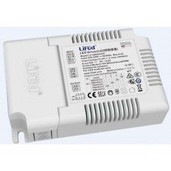 Store paneler Lifud 32W dæmpbar LED driver - Dæmpning via 0-10V eller PWM, 600 - 800 mA, 25 - 40V