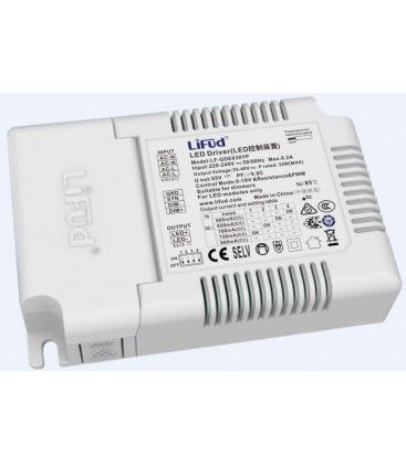 Lifud 32W dæmpbar LED driver - 600-800 mA