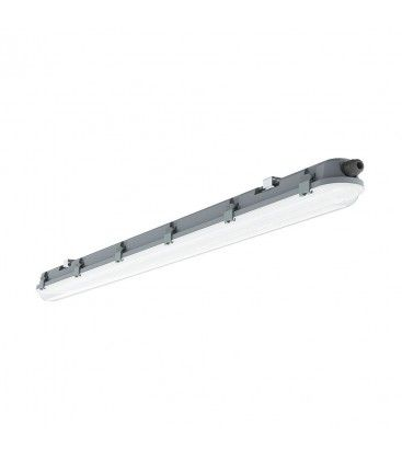 V-Tac vandtæt 18W komplet LED armatur - 60 cm, IP65, Gennemfortrådet, 230V