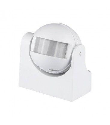 V-Tac bevægelsessensor - LED venlig, hvid, PIR infrarød, IP44 udendørs