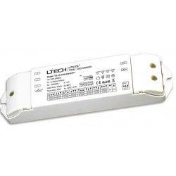 Store paneler Ltech 30W dæmpbar driver til LED panel - Triac + push-dim, flicker free, passer til 6W+12W små paneler og 29W store paneler