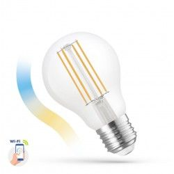 Almindelige LED pærer E27 5W Smart Home LED pære - Virker med Google Home, Alexa og smartphones, E27, A60