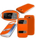 Samsung Galaxy S3 Mini, Flip Cover med S-View. Forskellige farver.