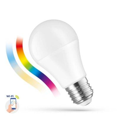 13W Smart Home LED pære - Virker med Google Home, Alexa og smartphones, E27, A60 - Dæmpbar : Via Smart Home, Kulør : Varm-kold + RGB
