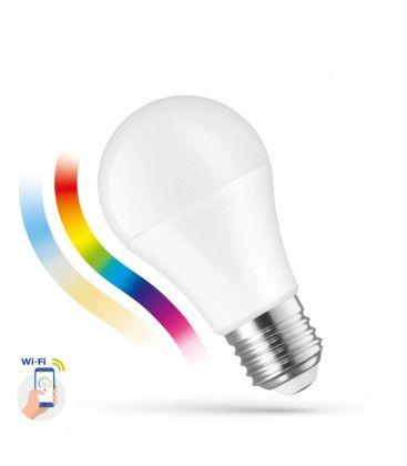 13W Smart Home LED pære - Virker med Google Home, Alexa og smartphones, E27, A60