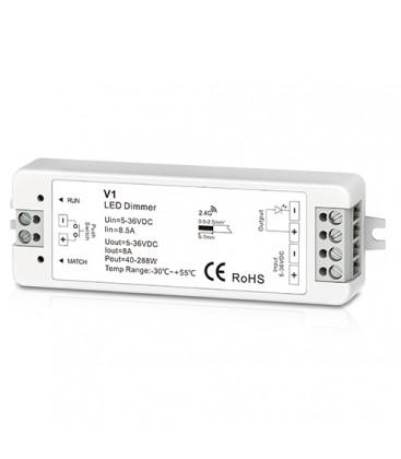 Trådløs dæmper uden fjernbetjening - RF trådløs, 12V (96W), 24V (192W)