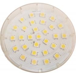 LIKO4.5.GX53.ww: LIKO4.5 LED pære - 4.5W, Varm hvid, 230v, GX53