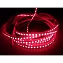 Rød 670 nm 4,8W/m LED strip - 5m, IP20, 60 LED pr. meter