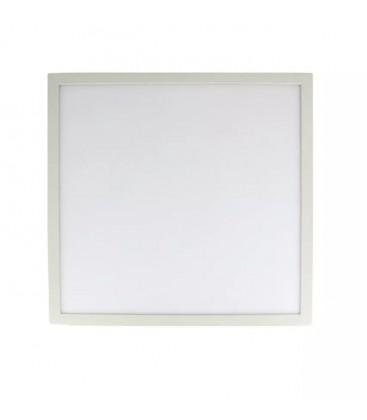 V-Tac 60x60 bagbelyst LED panel - 40W, flicker free, hvid kant