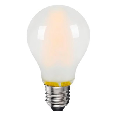 8W LED pære - 3-trin dæmpbar, on/off dæmpbar, matteret glas, 230V, E27 - Dæmpbar : Dæmpbar, Kulør : Varm