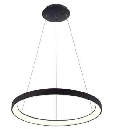 LEDlife Nordic48 Dæmpbar LED lampe - Flot indirekte lys, Ø48, sort, inkl. ophæng