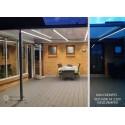 5 m. vandtæt LED strip (Type X) - 230V, IP67, 100 LED, 9W/m, kan klippes for hver 10cm