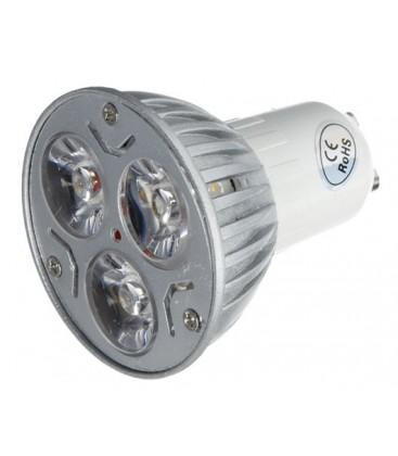 LEDlife TRI3 LED spot - 3W, ekstra varm 2400K, 230V, GU10