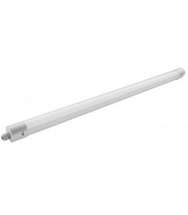 Easy Connect LED armatur 36W - 120 cm, gennemfortrådet, IP65