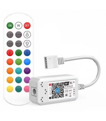 Smart Home RGB controller - Virker med Google Home, Alexa og smartphones, 12V (144W), 24V (288W)