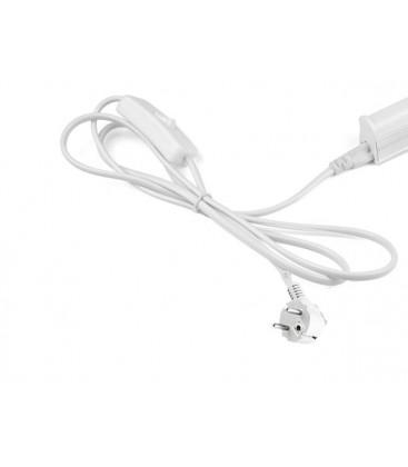 100 cm kabel til almindelig stikkontakt - Med afbryder og stik, passer til LEDlife Easy-Grow og Pro-Grow