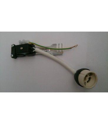 Downlight kit uden lyskilde - Hul: Ø6,5 cm, Mål: Ø8 cm, Hvid blank lakeret, Inkl. fatning til GU10 eller MR16