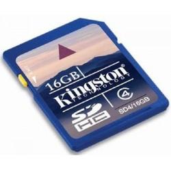 16gb.SD: 16GB Class 4 SD-kort