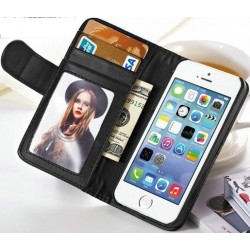 iphone6.cover.card: Iphone 6 etui med kreditkort holder. Sort eller hvid.