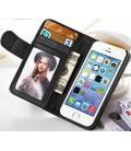 Iphone 5 etui med kreditkort holder