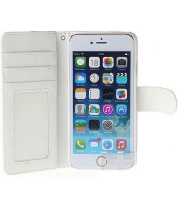 Iphone 4 etui med kreditkort holder. Sort eller hvid.